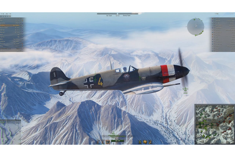 World of Warplanes Spitfire V DB605 Ace - YouTube