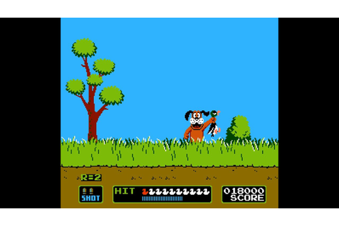 NES Game: Duck Hunt (1984 Nintendo) - YouTube