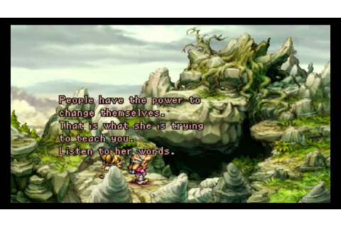 Legend of Mana, one of the cutest games I've ever seen ...
