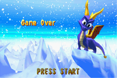 Spyro: Season of Ice Screenshots for Game Boy Advance ...