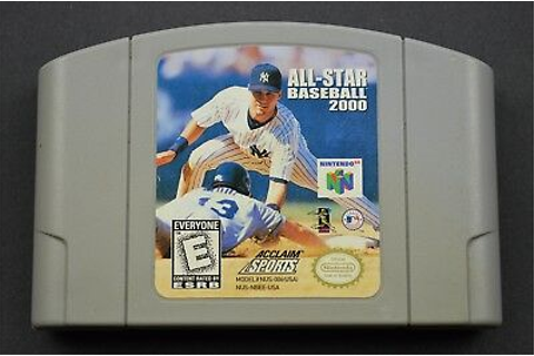 Acclaim Sports All-Star Baseball 2000 Nintendo 64 Video ...