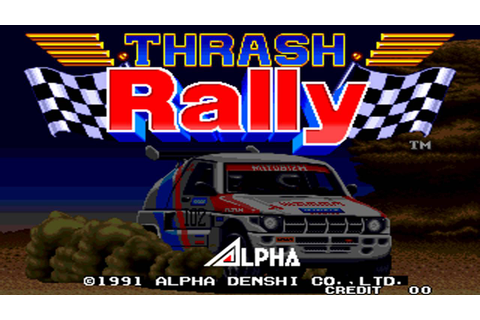 Thrash Rally is this week's NeoGeo game on Switch ...