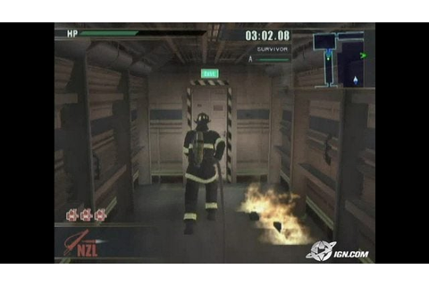 Firefighter F.D.18 - Firefighter F.D.18 PlayStation 2 ...
