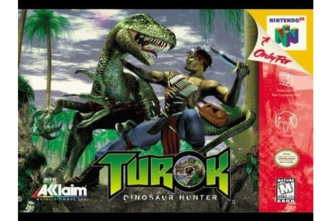 CGRundertow TUROK: DINOSAUR HUNTER for Nintendo 64 Video ...
