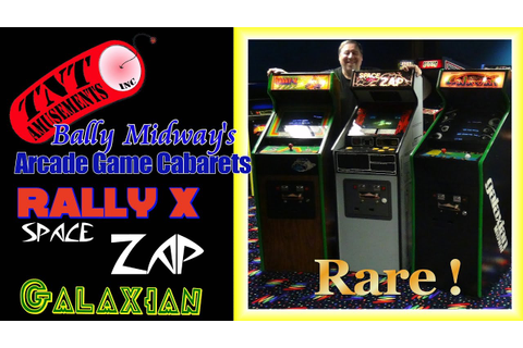 #1172 Bally Midway SPACE ZAP - GALAXIAN - RALLY X ...