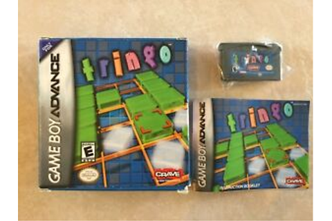 Tringo (Nintendo Game Boy Advance, 2006) GBA COMPLETE | eBay