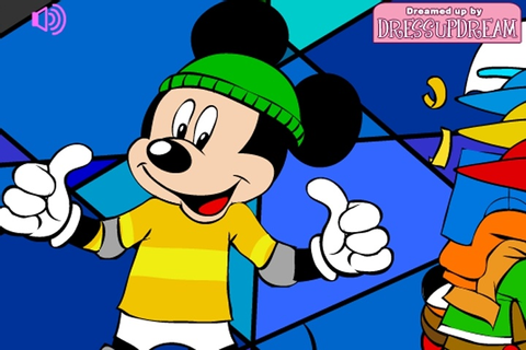 Mickey Mouse Dress Up Game - Disney games - Games Loon