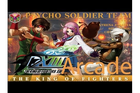 The King Of Fighters XIII Arcade - Psycho Soldier Team ...