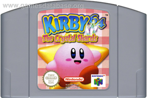 ... artwork for Kirby 64: The Crystal Shards on the Nintendo N64