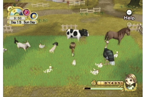Test Harvest Moon Wii