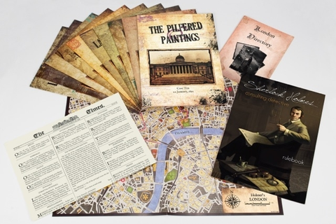 Sherlock Holmes Consulting Detective - boardgames.se