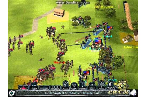 Let's Play Sid Meier's Gettysburg! - USA Picketts Charge ...