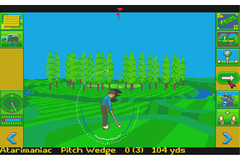 MicroProse Golf on Qwant Games