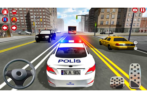 Real Police Car Driving Simulator 3D - Android GamePlay ...