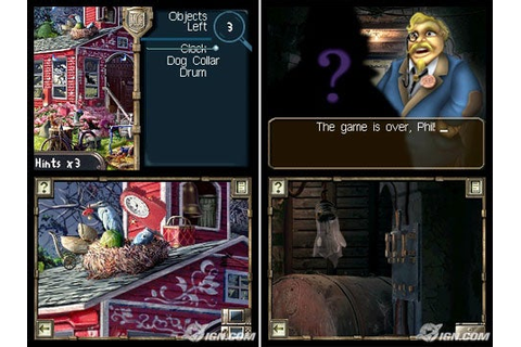 MYSTERY CASE FILES MILLIONHEIR NINTENDO DS GAME + WARRANTY ...
