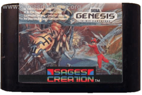 Insector-X - Sega Genesis - Games Database