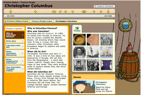 Christopher Columbus | Teaching Resources | KS1 and KS2 ...