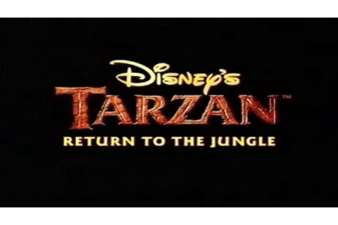 (GBA) Disney's Tarzan: Return to the Jungle - Trailer ...