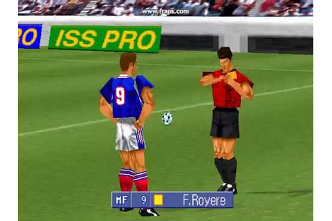 International Superstar Soccer Pro (PS1) Commentary Sample ...