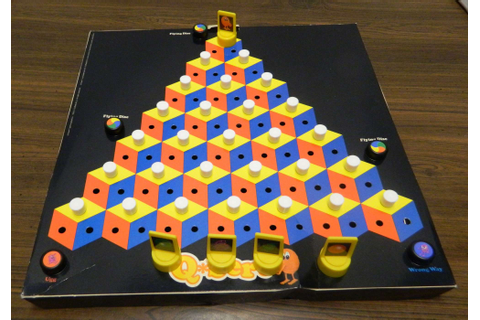 Q*bert Board Game Review and Instructions | Geeky Hobbies