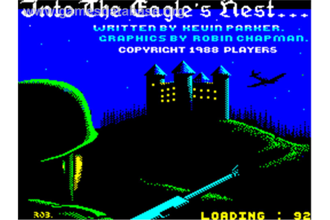 Into the Eagle's Nest - Sinclair ZX Spectrum - Games Database