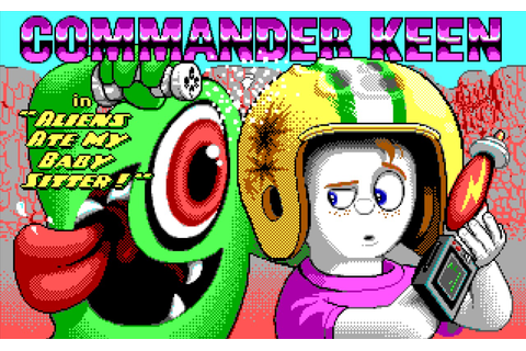 Commander Keen store page artwork - 3D Realms Forums
