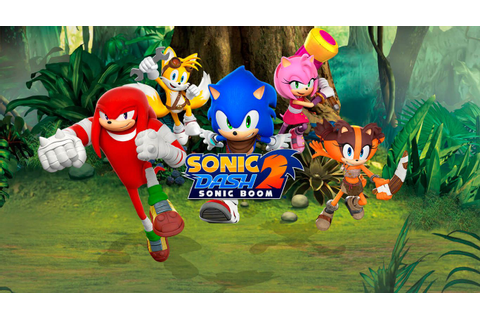 Sonic Dash 2: Sonic Boom on Qwant Games
