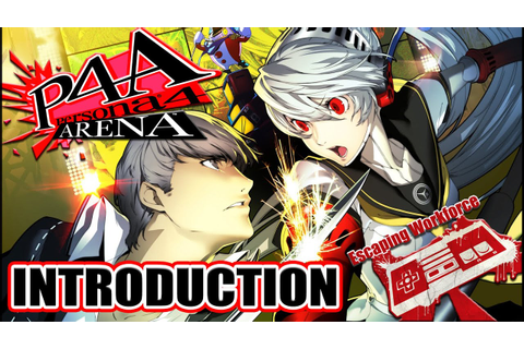 Persona 4 Arena Intro, Persona 4 Fighting Game By Arc ...