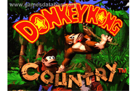 Donkey Kong Country - Nintendo SNES - Games Database