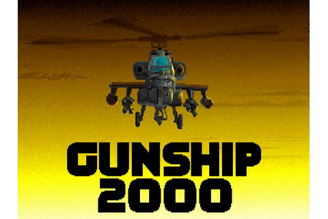 Download Gunship 2000 | DOS Games Archive