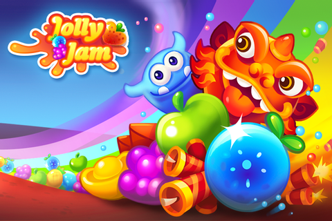 Rovio Takes on Candy Crush Saga With Jolly Jam – Gadget Darbar