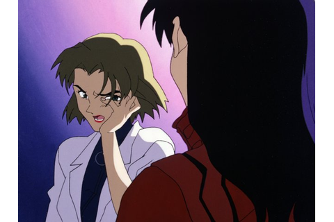 Image - Ritsuko slapped.png | Evangelion | FANDOM powered ...