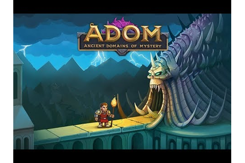 ADOM 2017 Ancient Domains of Mystery Gameplay - In Depth ...