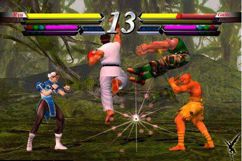 Street Fighter EX3 (PS2) - TFG Review / Art Gallery