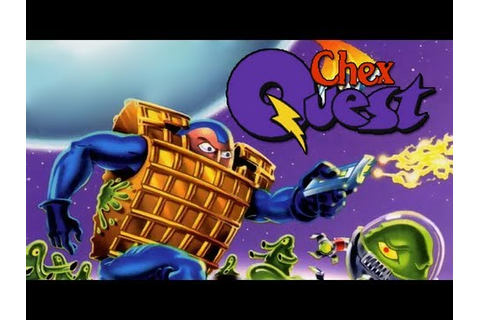 LGR - Chex Quest - DOS PC Game Review - YouTube