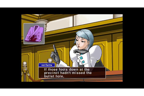 Phoenix Wright: Ace Attorney - Justice For All Walkthrough ...
