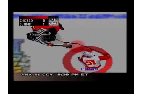 NHL Breakaway 99 - Season Mode (Detroit Red Wings) - YouTube