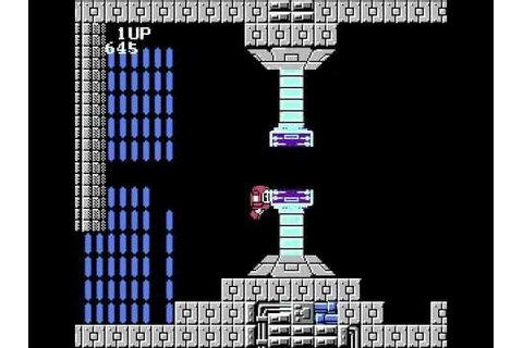 Miracle Ropit's Adventure in 2100 (J) Final stage. NES ...