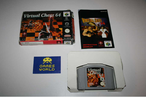 Virtual Chess 64 - Nintendo 64 | Game Galleria