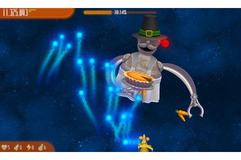 Chicken Invaders 4 Thanksgiving Free Download Game