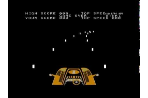 Coin-Op Games 1976 - Night Driver (Atari) [MAME] - YouTube