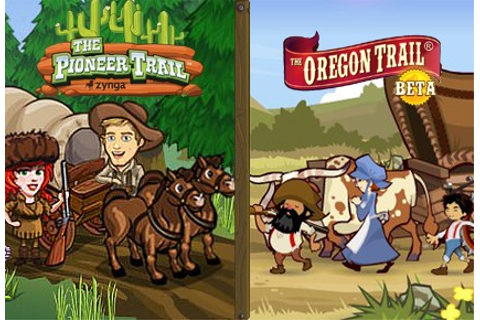 Facebook Game Faceoff: The Pioneer Trail vs The Oregon ...