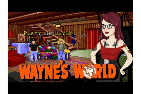 Wayne's World DOS Game? Shyeah Right. - YouTube