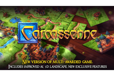 Digital boardgame Carcassonne arrives on Steam and Android