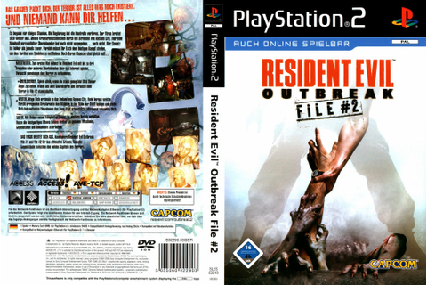 Resident Evil Outbreak File #2 - Playstation 2 - Ultra Capas