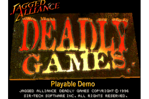 Download Jagged Alliance: Deadly Games | DOS Games Archive