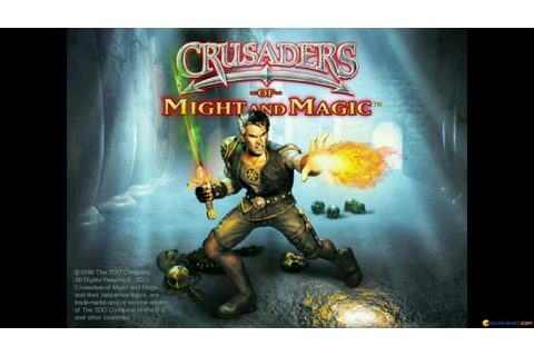 Crusaders of Might and Magic gameplay (PC Game, 1999 ...