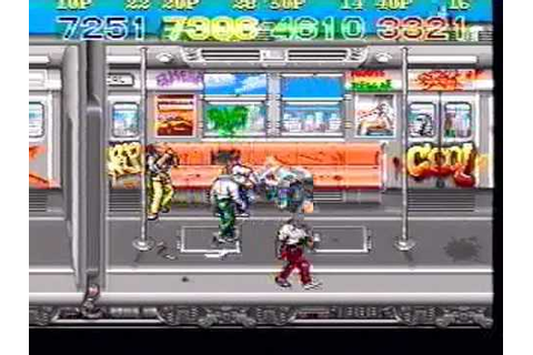 Crime Fighters Konami 4-players arcade game -Not MAME ...