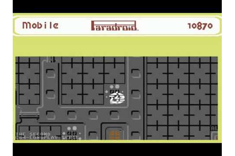 C64 Longplay - Paradroid (Competition Edition) - YouTube