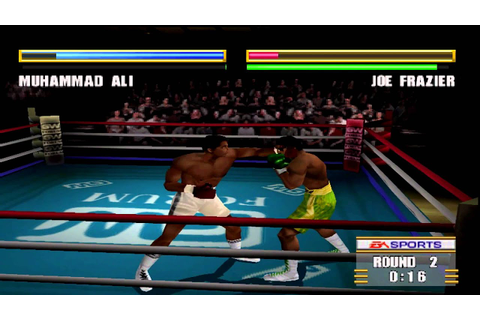 Knockout Kings 2000 Gameplay Muhammad Ali Vs. Joe Frazier ...